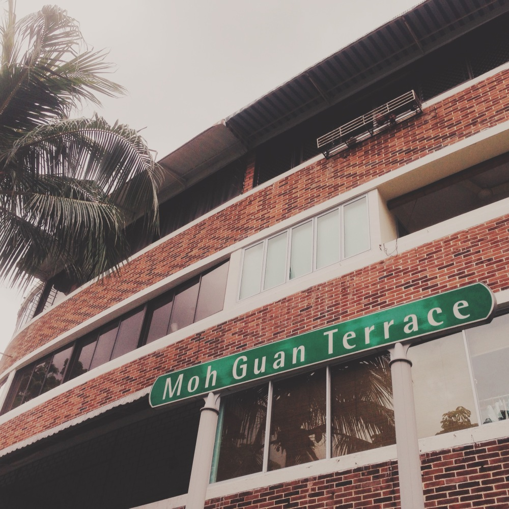 Located in Tiong Bahru and commonly known as 'the horse-shoe block' because of its distinctively curved shape. It also had a bomb shelter that was used during WWII!